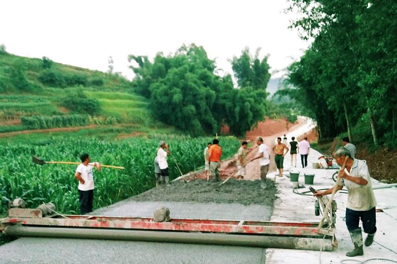 宽回村道路整改工程