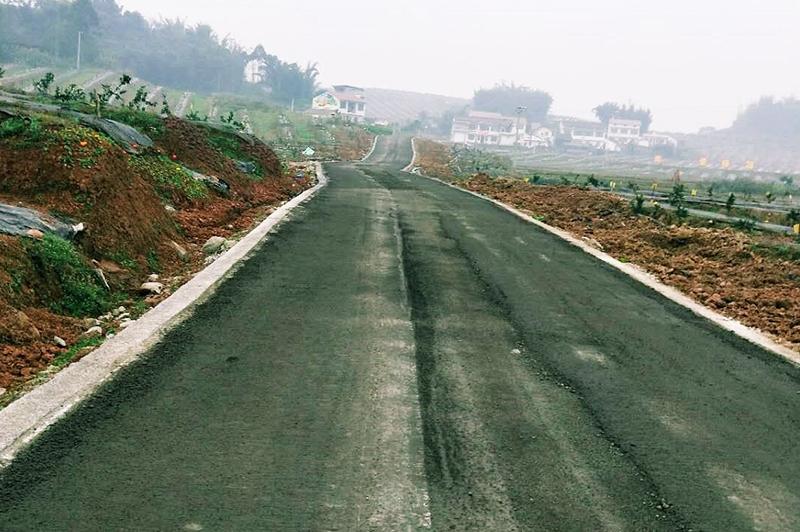 牟坪镇公路建设