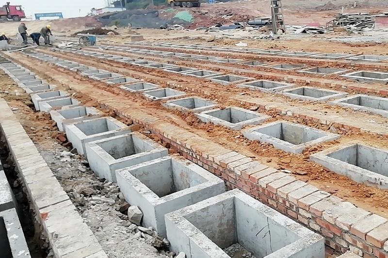 宜宾市南溪区公墓B区扩建项目总平(第二次)