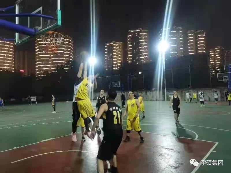 燃青春—宇硕集团与吉星酒业篮球友谊赛火热开赛